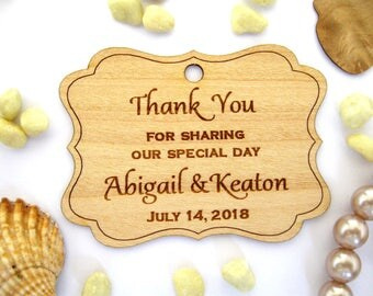 Favor Tags, Wedding Favor Tags, Wooden Tags, Gift Tags, Rustic Tags, Labels, Wood Personalize, Custom tags, Rustic Wedding, tags