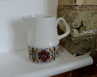 Small Vintage Milk Jug - Wood & Sons pottery England - 'Boutique'