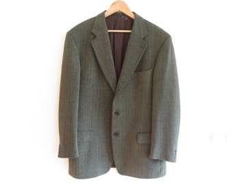 ERMENEGILDO ZEGNA Vintage Wool Blazer Jacket with a Small Tear, sz. 54