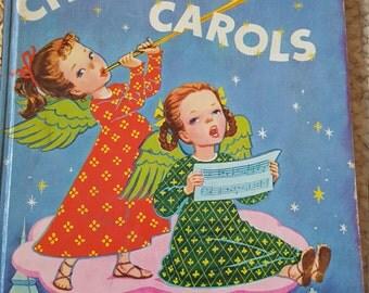 Vintage Christmas Carols A Little Golden Book 1946