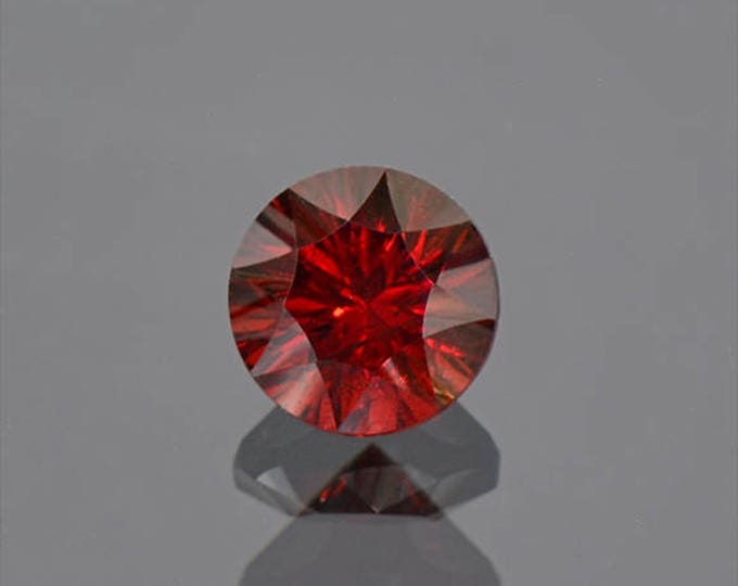 Fine Deep Red Rhodolite Garnet Gemstone from Tanzania 4.38 cts.