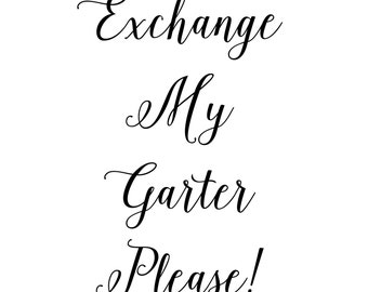 Exchange Your Garter Listing
