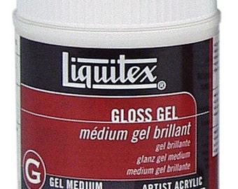 Gloss Gel Medium 8oz