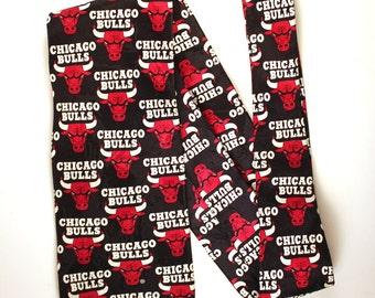 Chicago Bulls Vintage Tie/ Vintage clothing/ Basketball/ Sports/ NBA/ National Basketball Association/ Michael Jordan