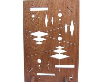 994 - Mid Century Modern Abstract Fretwork