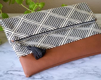 Geometric Day Clutch
