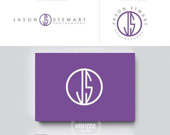 gender nutral photographer logo initials male businesscards  simple modern feminine branding kit Identity minimal wedding photographer