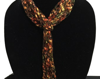 Perfect Skinny Scarf and Necklace in One...#1161