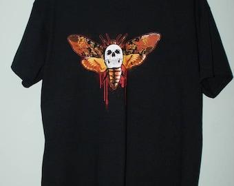 The Death's Head Moth T-shirt, Silence of the Lambs Movie T-shirt, Horror T-shirt