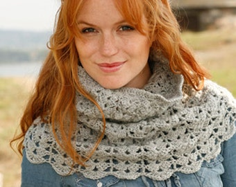 Neck crochet shawl wool and alpaca, woman accessory, winter outfits. Handmade. CHOOSE THE COLOR.