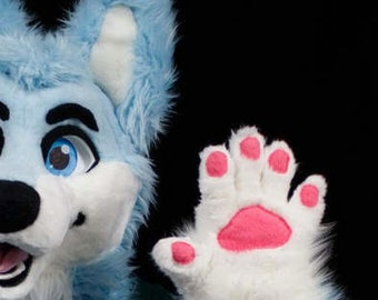 Custom Fit Five Finger Fursuit Paws