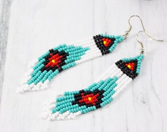 Gift for bestfriend christmas gifts Party gifts womens earrings Aquamarine earrings Ethnic style Designer earrings handmade Indian jewelry