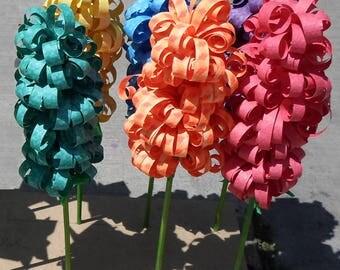 Paper Hyacinths