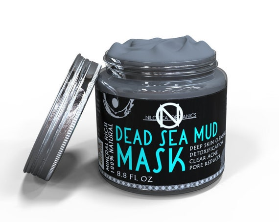 Natural Dead Sea Mud Mask 8.8 fl oz - Facial Cleanser, Detoxifies, Restores Healthy Skin – Reduce Wrinkles ACNE and Improve Skin Complexion