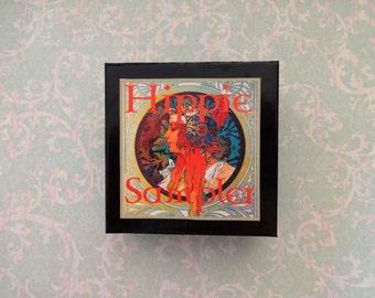 Hippie Sampler Gift Set - Bohemian Perfumes Gift For Her, Die Hard Hippie Perfumes, Hippie Colognes, Boho Perfume, Nostalgic Perfumes