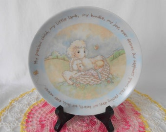 "Precious Moments Plate ""My Precious Child"""