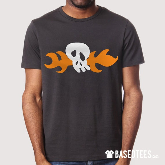 Hoagie Fire Skull  - T-Shirt