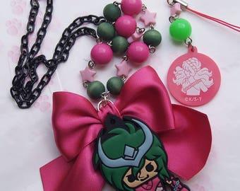 Necklace collar and strap Shun Saint Seiya