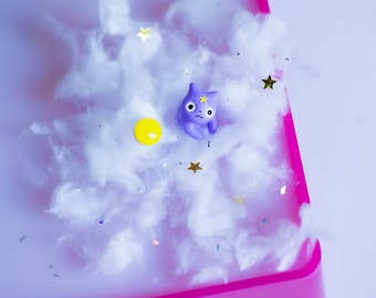Lympy Space Princess Earring / Yellow stud / Adventure Time