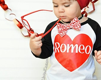 Valentine Shirt - Toddler Boy Valentine - Romeo - Boy Valentine Shirt - Boy Valentine Outfit - Boy Valentines Day - Boy Clothes - ©Liv & Co™