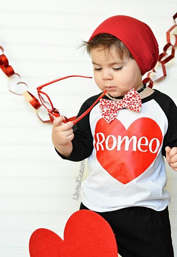 Valentine Shirt Toddler Boy Valentine Romeo Boy