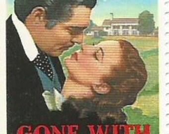 1 Gone With The Wind Rhett Scarlett Mint US Postage Stamp