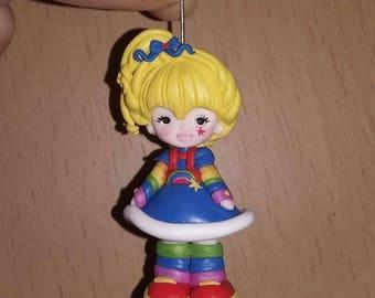 To order: Rainbowbrite  necklace, handmade, polymer clay