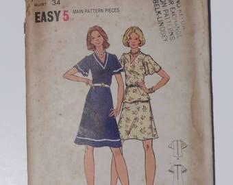 Vintage 1970's Butterick Pattern 3199 size 12