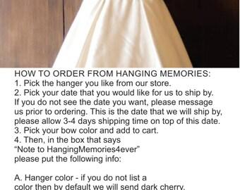 Wedding Hanger, Personalized Bridal Hanger, Custom Wire Name Hanger, Bridesmaid gift, wedding dress hanger