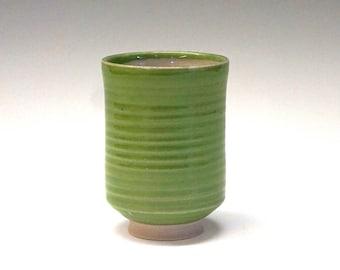 Porcelain cup, tea cup, green tea cup, ceramic tea cup, handmade, high fired