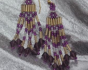 Native Beaded Earrings from Alaska