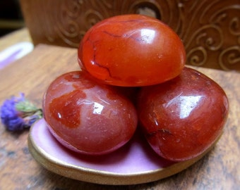 Carnelian Healing Crystal, Reiki Infused, High Energy, Promotes Optimism, Connect To Your Higher Self, Vitality, Refreshed