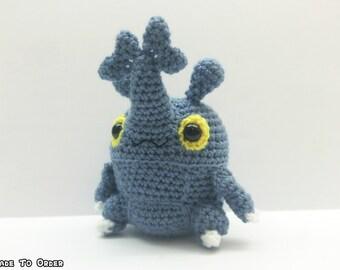 Crochet Heracross Inspired Chibi Pokemon