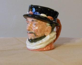 Vintage Royal Doulton Miniature Toby Mug