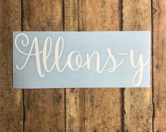 allons-y decal