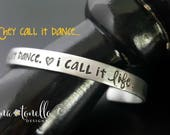 Dance Recital Gift, Dance Teacher Gift, Dancer Gift, Gift for Dancer, Dancer Cuff Bracelet, Dance Jewelry, Ballet Gifts, Tap Dance Jewelry