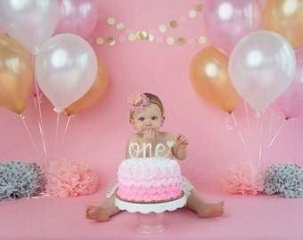 Cakes first birthday girl