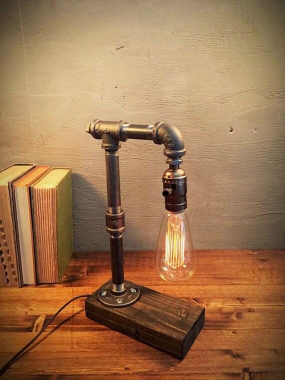 Industri le verlichting steampunk lamp door urbanindustrialcraft - Licht industriele vintage ...