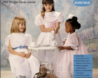 Madeira Applique by Machine Martha Pullen Heirloom Sewing from A to Z Girls Dresses Pillows Collars