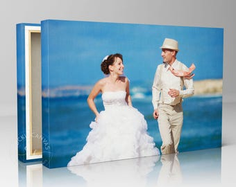 Photo to Canvas/ Personalized picture/ Canvas gift idea/ Gallery Wrapped Canvas/ Unique wall decor.