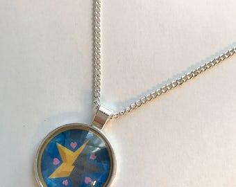Star vs the Forces of Evil Star Butterfly Wand Inspired Fan-Made Necklace