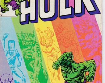 Incredible Hulk #267 - January 1982 Issue - Marvel Comics - Grade Fine