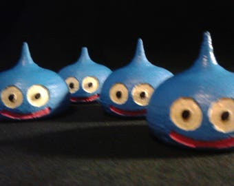 Mini 3D Printed Slime (Dragon Quest) - STACKABLE