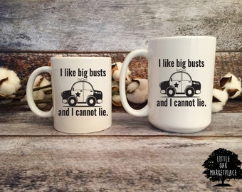 I Like Big Busts and I Cannot Lie Mug, Police officer gifts, Gifts for police officers, law enforcement, cop mug, officer gifts, cop gifts