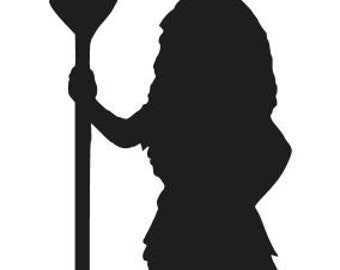 Princess MOANA SILHOUETTE Vinyl Decal Sticker Car Window Laptop Wall Choose Size and Color