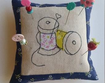 Sewing Themed Pin Cushion