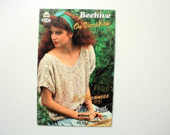 Beehive 485  / summer sweaters for women / sleeveless sweater, short sleeve sweater / Patons 485