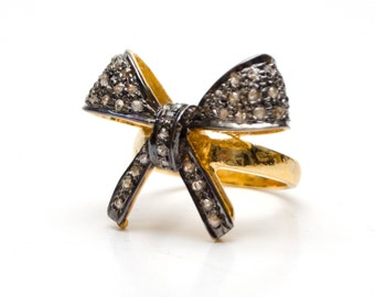 SALE*** Diamond bow ring