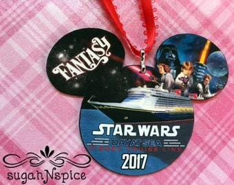 Disney Cruise Ornament - Star Wars Day at Sea Ornament - Star Wars Ornament - Fish Extender Ornament Exchange - Fish Extender Gift