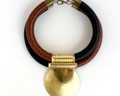 Statement Chokers, African tribal necklace, african jewelry, leather tribal necklace